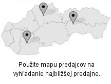 Mapa predajcov strešných nosičov, autoboxov,... príšlušenstva.