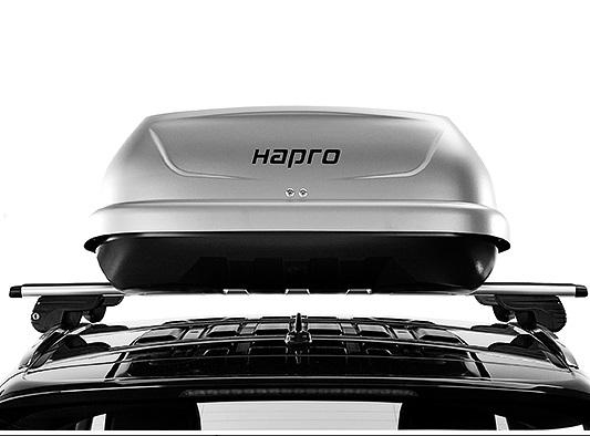 Strešný box Hapro Traxer 5.6 šedá lesklá metalíza - Phantom Grey
