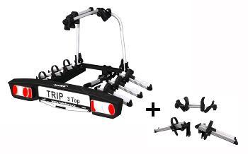 Nosič bicyklov Hakr Trip 3 TOP + adapter HV1165