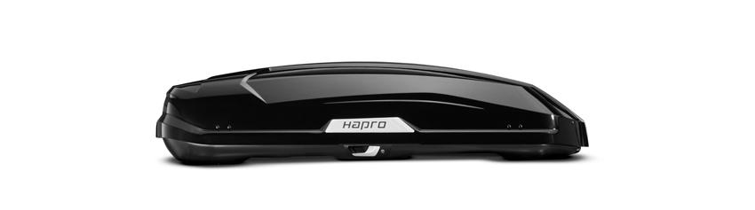 Strešný box Hapro Trivor 440 Brilliant Black