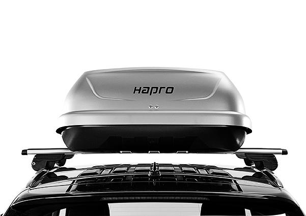 Strešný box Hapro Traxer 6.6 Titanium