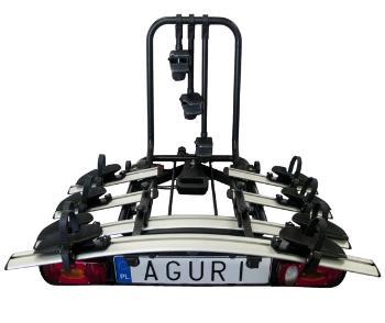 Nosič bicyklov AGURI Active Bike 3 + Aguri adapter pre 4 bicykel