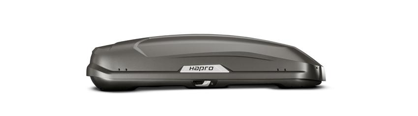 Strešný box Hapro Trivor 440 Supermatt Anthracite