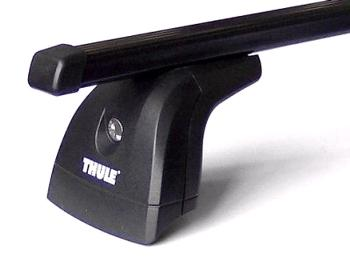 Strešný nosič THULE SquareBar 751/762/3149 pre VOLKSWAGEN Transporter (T6) Strešný nosič THULE Squar