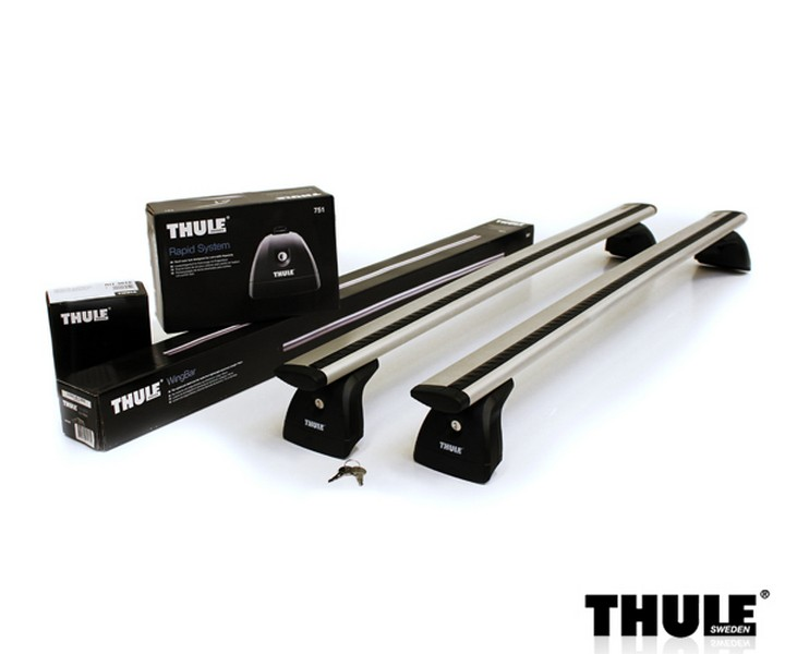 Strešný nosič THULE WingBar 751/969/3070 pre FIAT Fiorino Strešný nosič THULE WingB