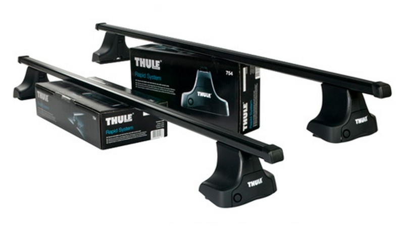 Strešný nosič THULE SquareBar 754/769/1689 pre LEXUS GS450 Strešný nosič THULE Squar