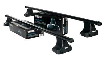 Strešný nosič THULE SquareBar 754/769/1659 pre KIA Rio (Mk III) Strešný nosič THULE Squar