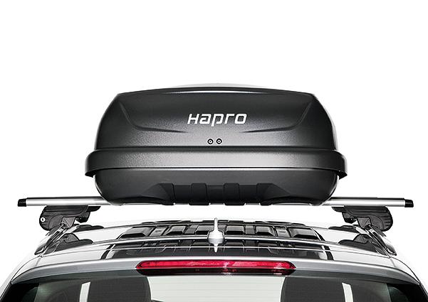 Strešný box Hapro Traxer 6.6 Antracit