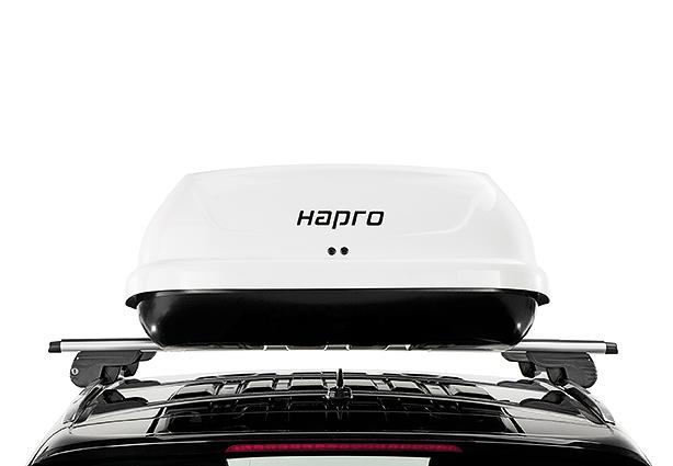Strešný box Hapro Traxer 6.6 Pure White