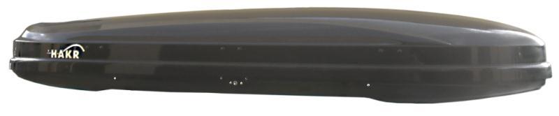 Strešný box Hakr Magic Line 450 čierny lesklý