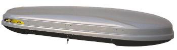 Strešný box Hakr Magic Line 450 strieborný lesklý