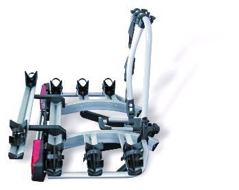 Nosič bicyklov Atera Strada DL 3 + adapter 022611 (3+1)